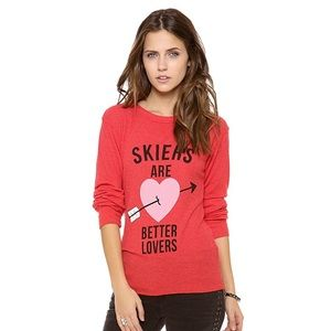 Wildfox skiers are better lovers thermal S
